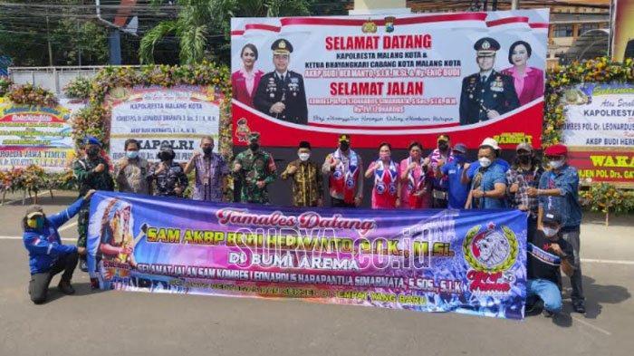 Saat Wali Kota Sutiaji Ucapkan Selamat Datang untuk Kapolresta Malang Kota AKBP Budi Hermanto