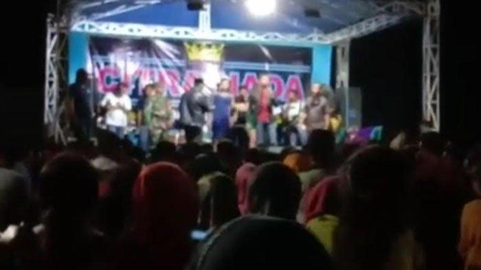 Acara Dangdutan di Kabupaten Tuban Abaikan Protokol Kesehatan, Pemkab Mengaku Kecolongan