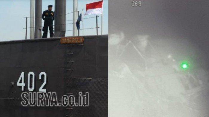 Foto-foto KRI Nanggala 402 di Kedalaman 830 Meter, Terbelah jadi 3 Bagian, KSAL: Bukan Human Error