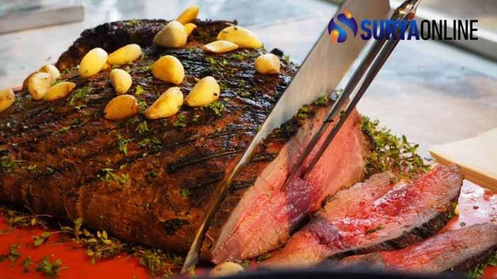 Tips Memasak Steak dari Chef Java Paragon Hotel Surabaya, Gunakan Minyak Zaitun agar Rasa makin Kuat