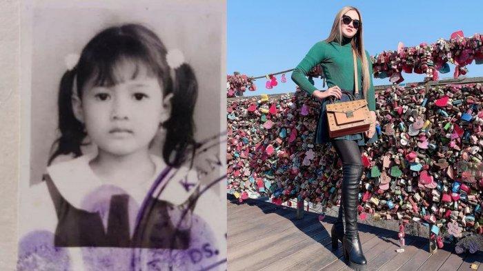 Foto-foto Nella Kharisma dari TK sampai Didekati Dory Harsa, Punya Pipi Tembem Sejak Kecil