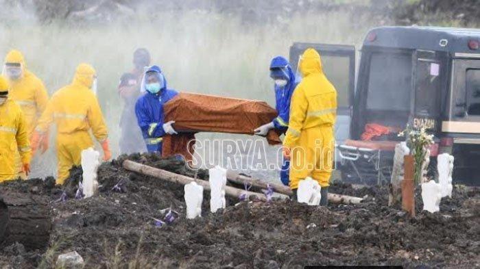 Angka Kematian Covid-19 di Kabupaten Ponorogo Naik, Tim Pemakaman Sampai Kewalahan