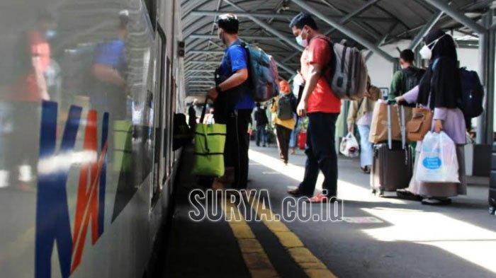 PPKM Darurat, Ini 17 Perjalanan KA di Wilayah KAI Daop 8 Surabaya yang Dibatalkan Mulai Hari Ini