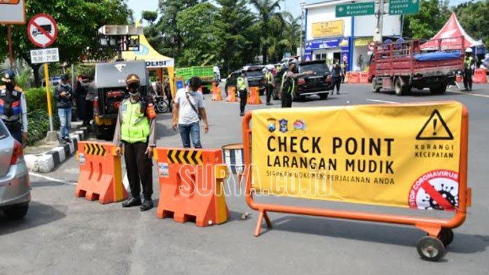 Info mudik Surabaya: Syarat Warga Jatim ke Luar Kota & 20 Titik yang Dijaga Ketat Petugas