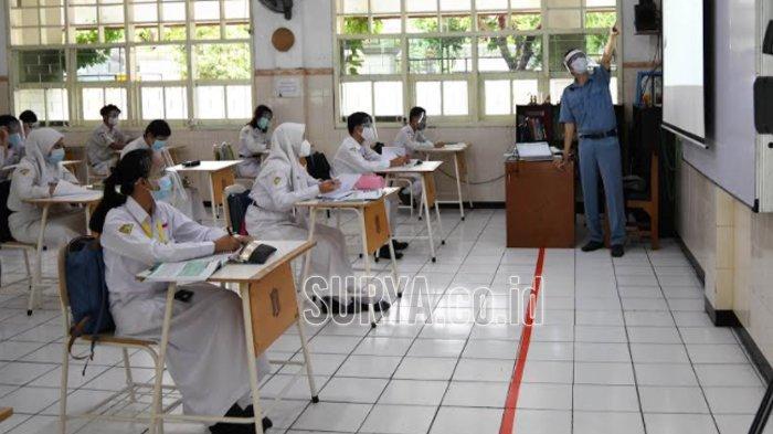 Di Kabupaten Tuban, Pelaksanaan Pembelajaran Tatap Muka Tunggu Petunjuk Pusat
