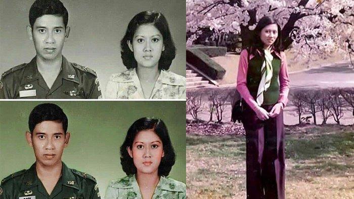 Deretan Foto Jadul Ani Yudhoyono ketika Muda, Cantiknya Foto dengan SBY saat jadi Prajurit