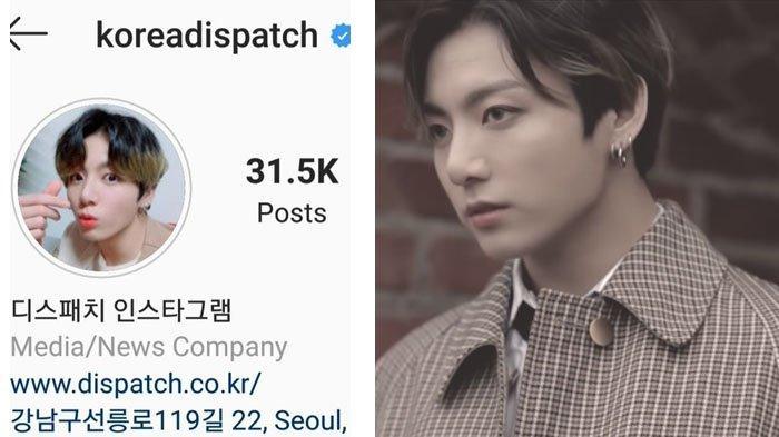 Foto Jungkook BTS Jadi Foto Profil Dispatch, Apakah Pertanda Ada Skandal Kencan Member BTS?