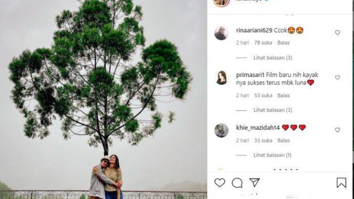 Foto Luna Maya dan Morgan yang heboh di media sosial
