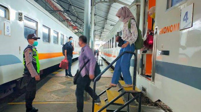 Mulai Besok, Perjalanan KA Probowangi dan Tawang Alun Wajib Tunjukkan Surat Bebas Negatif Covid-19