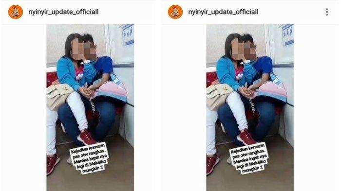 Foto Sejoli Bermesraan di KRL Viral di Medsos, PT KCI Harapkan Penumpang Paham Etika
