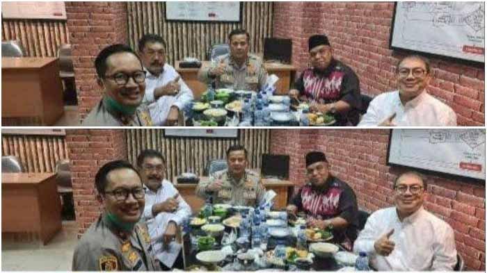 FAKTA FOTO  Viral Jamuan Makan Siang Untuk Jenderal Tersangka Penghapusan Red Notice di Kejaksaan
