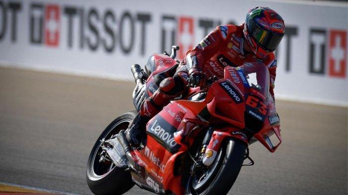 Hasil dan Klasemen MotoGP Aragon 2021: Francesco Bagnaia Juara, Quartararo Gagal Podium