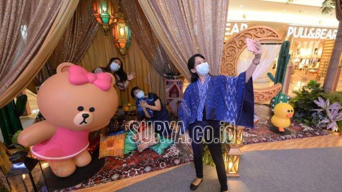 Line Friends Pop Up Store Jadi Referensi Isi Libur Lebaran di Kota Surabaya Tanpa Mudik