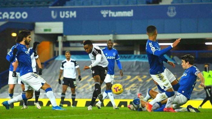 Fulham Kalahkan Everton di Goodison Park, Senin (15/2/2021) dini hari