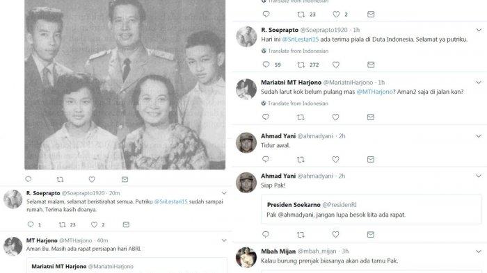 G30S - Mungkin Begini Jika Para Pahlawan Revolusi Punya Twitter