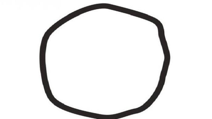 Menurut Anda, Gambar Ini Lingkaran atau Bukan Lingkaran?