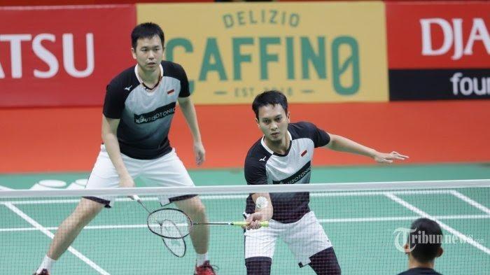 Live Streaming Final BWF World Tour Final 31 Januari Jam 13.00, Peluang Ahsan/Hendra Juara Badminton