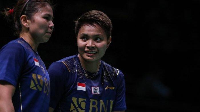 Hasil Uber Cup 2020 - Apriyani Rahayu/Putri Syaikah Bawa Indonesia ke Perempat Final Sikat Prancis