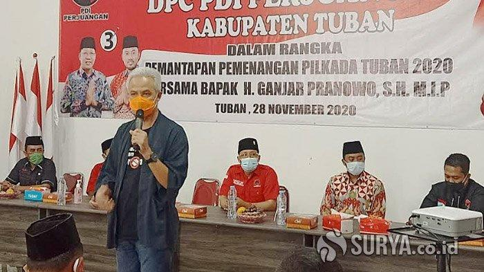 Datang ke Tuban, Ganjar Pranowo Ajak Kader Banteng Menangkan Setianegara