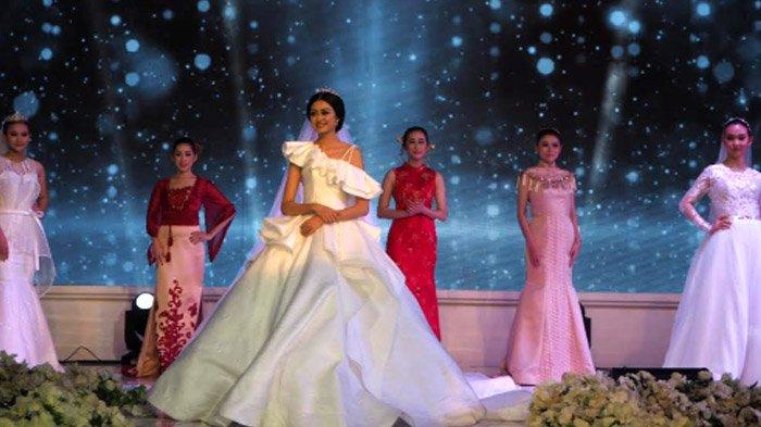 Potret Elanda Maradonna yang Launching Gaun Pengantin tepat di Hari Pernikahannya