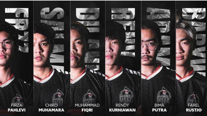 Eks Pelatih Bigetron Alpha dan RRQ Nahkodai Geek Fam di MPL Season 8: Dua Pemain Junior Promosi
