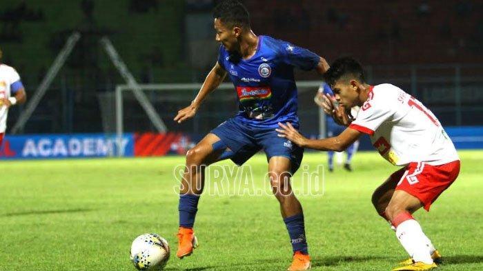 Winger Arema FC Dendi Santoso : Semoga Liga Sepak Bola Indonesia Segera Berlanjut di Tahun 2021