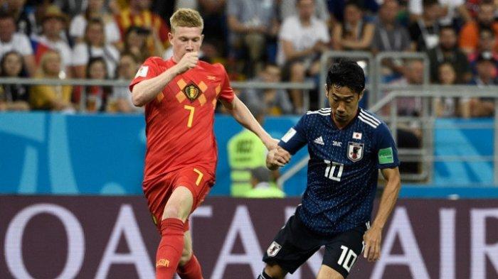 Hasil Piala Dunia 2018 Belgia vs Jepang, Skor Sementara Babak Pertama 0-0, Masih Live Trans TV