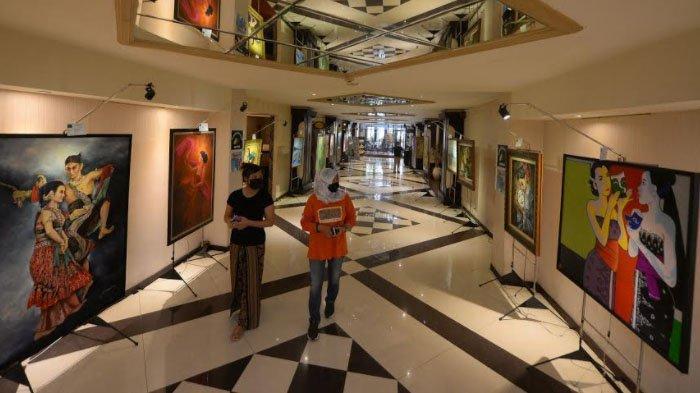 21 Seniman Lukis se-Jawa Bali Silaturahmi lewat Karya dalam Nabasa Institut Exhibition di Surabaya
