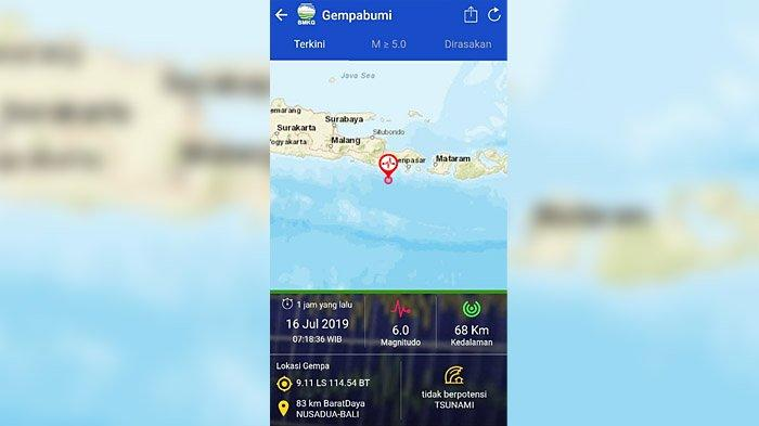 Getaran Gempa Bumi Bali Terasa Hingga ke Pamekasan, BPBD Imbau Warga Tidak Panik
