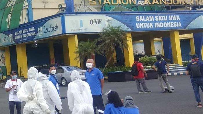 Gempa Goyang Malang, Orang di Stadion Kanjuruan yang Bersiap Gelar Laga Persija Jakarta vs Barito Putera Semburat Lari
