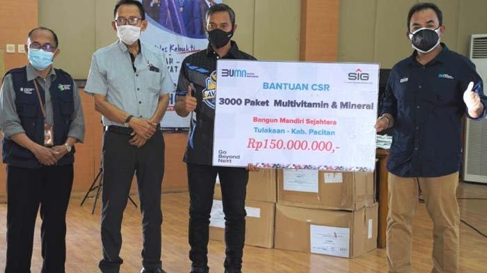 SIG Peduli Roadshow Jatim - Jateng guna Salurkan Bantuan 5.000 Paket Multivitamin