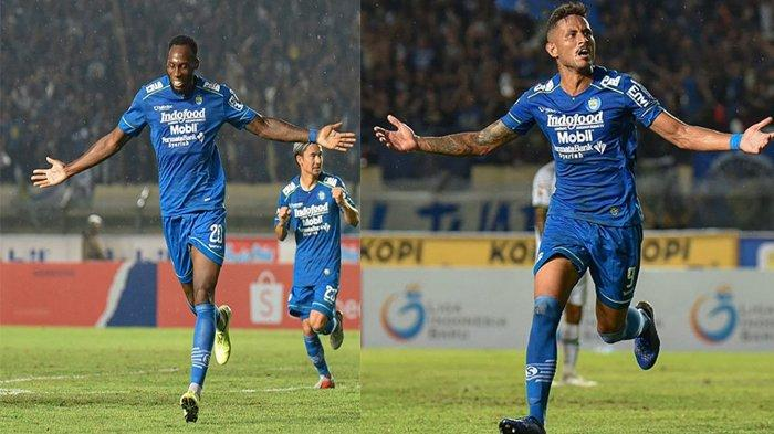 Skor Akhir Semifinal Leg I Piala Menpora 2021 Persib Bandung vs PS Sleman 2-1, Petaka di Menit Akhir
