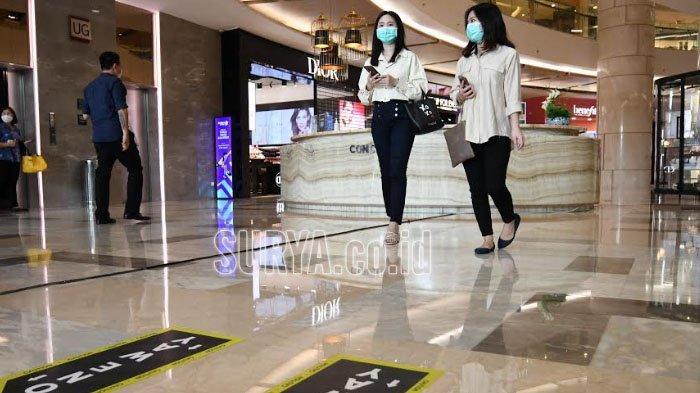 Jelang New Normal, Tunjungan Plaza Surabaya Uji Coba One Gate System