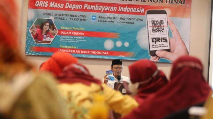 Indah Kurnia : Transaksi Cashless Menguntungkan Pelaku UMKM