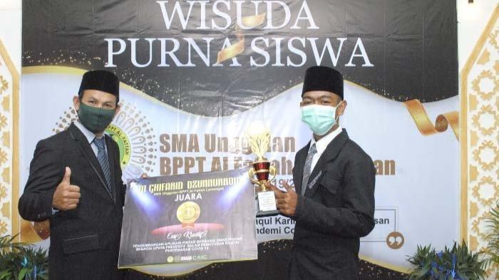 Cegah Covid dengan Aplikasi, Siswa SMA Unggulan BPPT Al Fattah Lamongan Juara Lomba Esai Kreatif