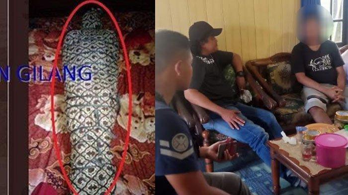 Penangkapan Gilang Bungkus Terduga Pelaku Fetish Kain Jarik di Kalimantan, Ini 3 Faktanya