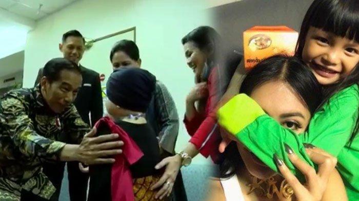 Tubuh Shakira Aurum Putri Denada Bengkak saat Dikunjungi Jokowi, 'Dia Bisa Tiba-tiba Nge-Drop'