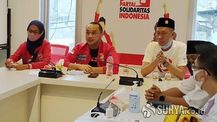 Giring Ganesha Turun Gunung ke Surabaya, Instruksikan Kader PSI Kawal ErJi Menang Tebal