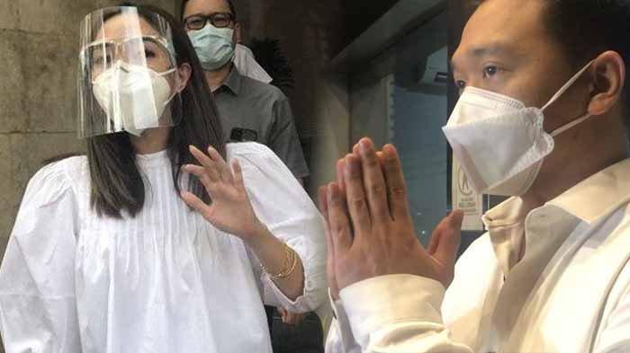 Gisella Anastasia (kiri) tidak dipenjara lantaran polisi mempertimbangkan putrinya yang masih membutuhkan bimbingannya. Kanan : sosok MYD, tersangka pemeran video syur 19 detik dengan Gisel di Kota Medan pada 2017.