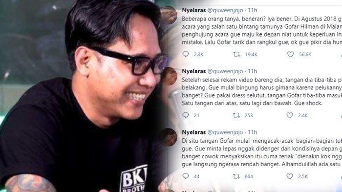 Biodata Gofar Hilman yang Bantah Lakukan Pelecehan Seksual Cewek Malang, Eks Pacar Anak Konglomerat