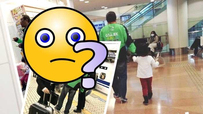 Bukan Editan! Foto Pria Berjaket Gojek Masuk Bandara Jepang Buat Warganet Geger, ini Bukti-buktinya