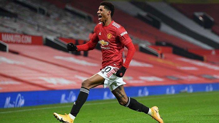 Hasil Manchester United vs Wolves berakhir 1-0 berkat gol Marcus Rashford di menit akhir, Rabu (30/12/2020) dini hari