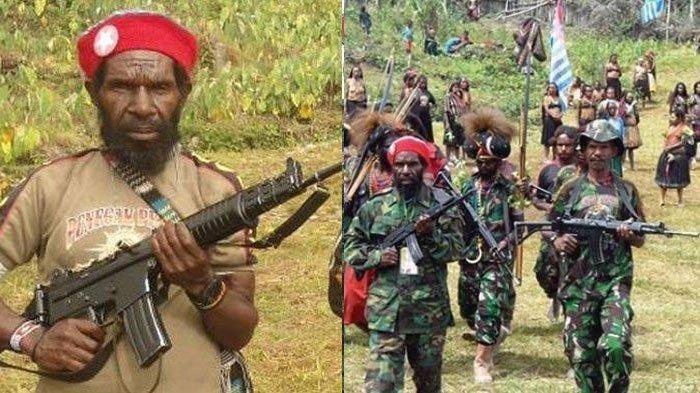 Goliat Tabuni (kiri), Panglima TPNPB yang sudah renta dan akan dilengserkan KKB Papua