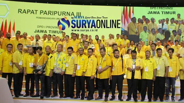 Golkar Jatim Tegas Dukung Airlangga Hartarto di Munas: Ketua Umum Sukses Selamatkan Golkar di Jatim