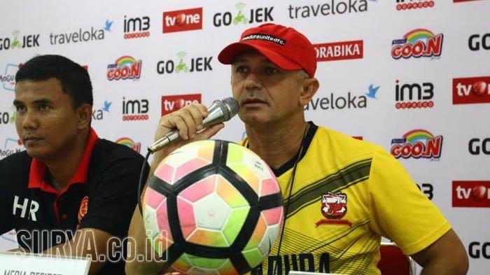 Pelatih Madura United Sebut Timnya Masih Punya Peluang Jadi Juara Liga 1 2018