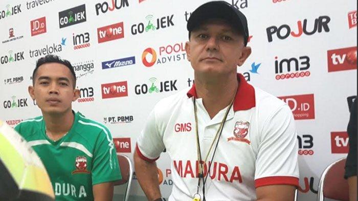 Madura United Vs Persipura Jayapura, Cara Gomes de Oliviera Antisipasi Kecepatan Pemain Persipura