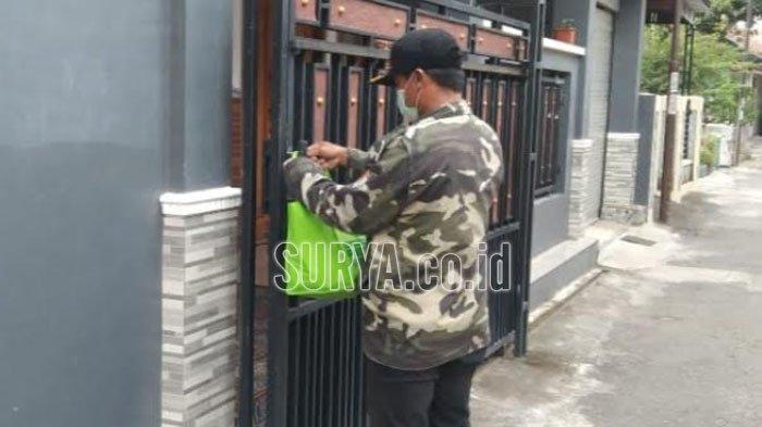 GP Ansor Ponorogo Antarkan Bantuan ke Tiap Rumah Warga yang Isolasi Mandiri