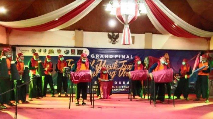 Lomba Musik Tradisional Daol Combodug di Kabupaten Sampang Digelar Secara Virtual