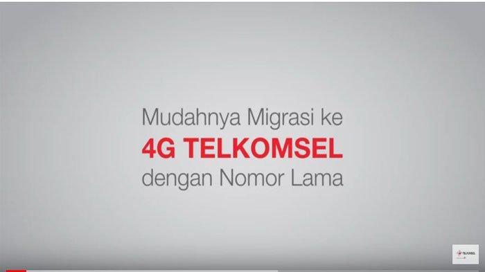 Gratis Kuota Internet Telkomsel hingga 10GB Saat Migrasi ke Jaringan 4G, ini Syarat & Ketentuannya