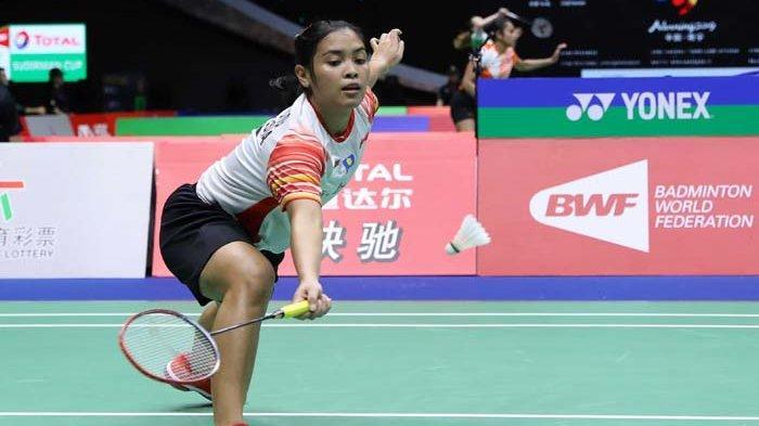 Gregoria Mariska Tunjung menjadi wakil satu-satunya tunggal putri Indoensia di Olimpiade Tokyo 2020